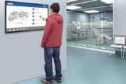 Infračervený dotykový displej s duálním OS