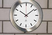 Vestavěné hodiny FLEX, nerezový límec, pro průměr 30 cm