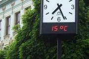 Kroměříž, pouliční hodiny