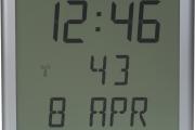 LCD, digitální hodiny, model LCD.75.4, třířádkový