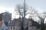Litvínov, křižovatka ulice Valdštejnské a Studentské