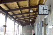 Město Albrechtice, železniční stanice