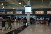 Mezinárodní letiště Dubaj, DC digitální hodiny