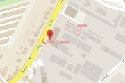 mapka nové budovy ELEKONU