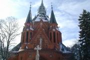 Poštorná, Kostel Navštívení Panny Marie