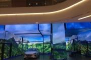 Velkoplošné multimediální obrazovky Unilumin, řešení pro interiér