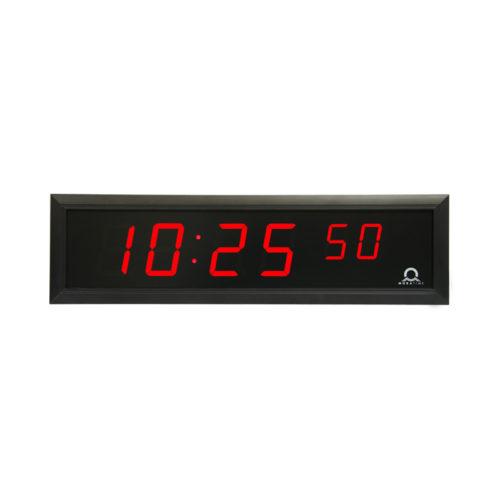 DC, digitální hodiny