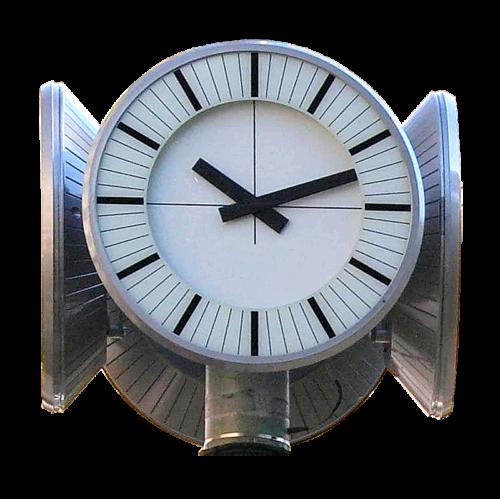 METROcity analogové hodiny