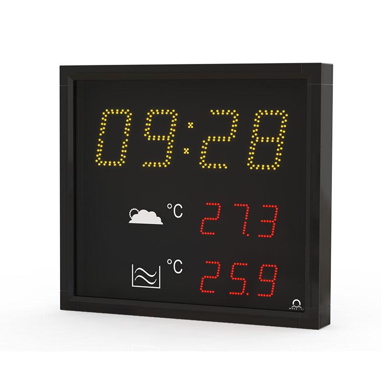 Digitální hodiny DT s teploměrem a ukazatelem času