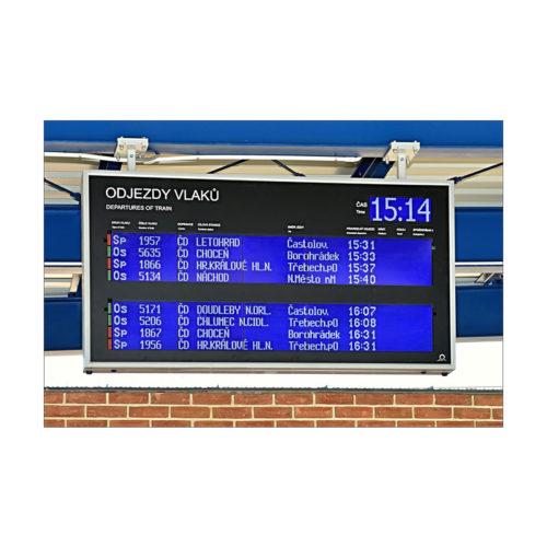 LCD informační panel řady GL