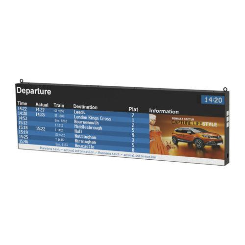 LED informační panely řady GSO