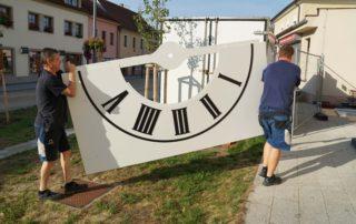 Reference věžních hodin